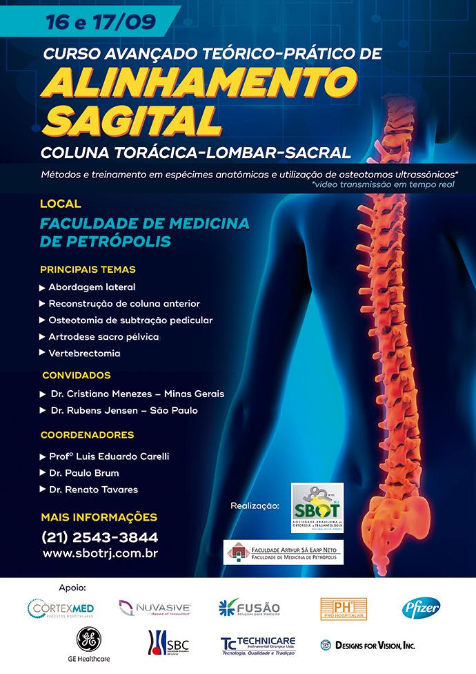 Curso Avançado Teórico-Prático de Coluna Torácica-Lombar-Sacral: Alinhamento Sagital (16 e 17/09)