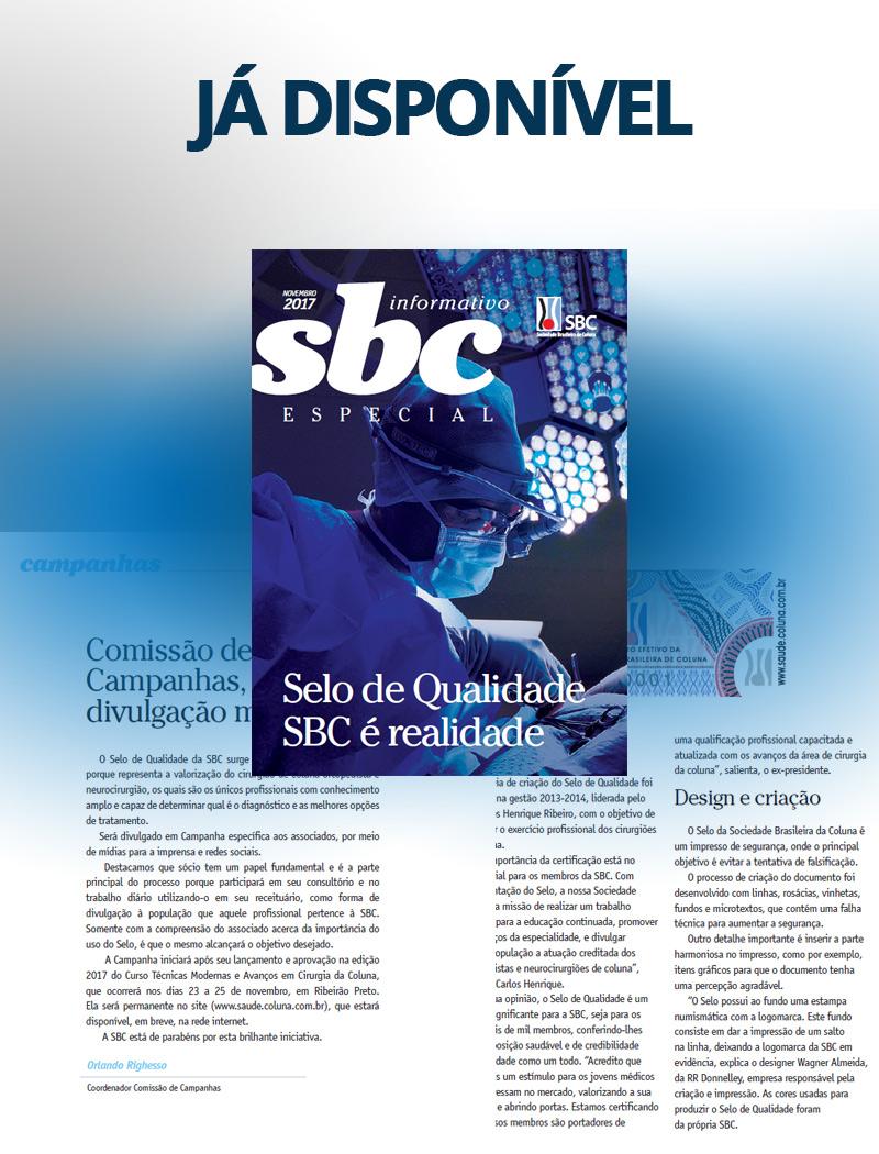 Informativo SBC - Edição Especial