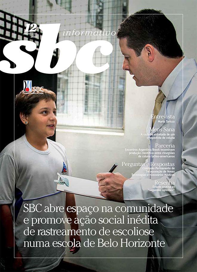 Informativo Sociedade Brasileira de Coluna nº 12 - 2015